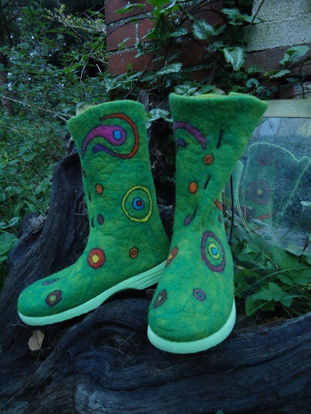 """Meine neuesten Schuhe. Ich nenne sie """"Herbstzeitlose"""" 213"""
