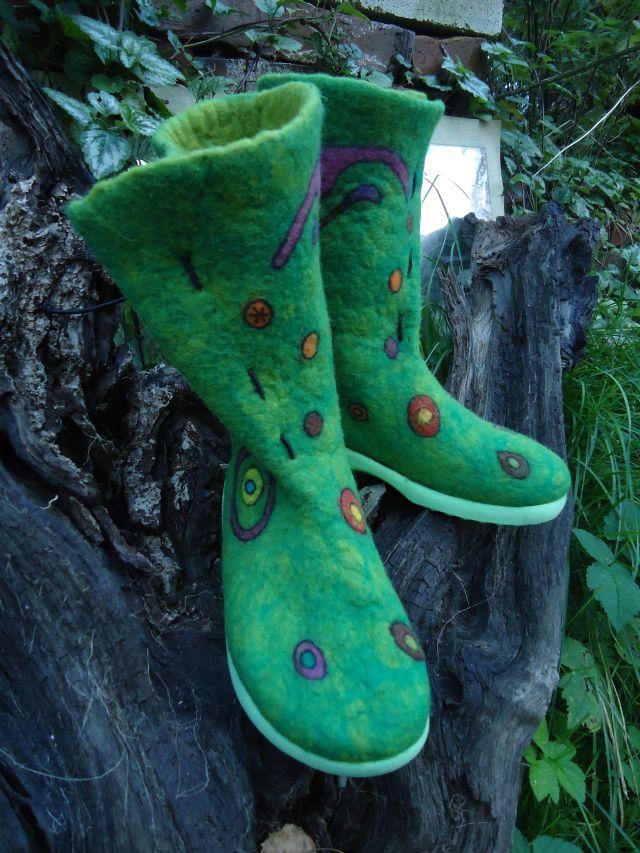 """Meine neuesten Schuhe. Ich nenne sie """"Herbstzeitlose"""" 313"""