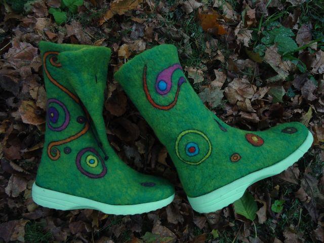 """Meine neuesten Schuhe. Ich nenne sie """"Herbstzeitlose"""" 411"""