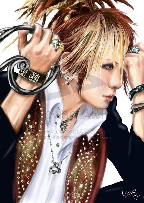 Рисунки The GazettE  Ruki_t10