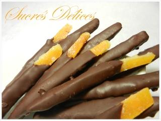 écorces d'oranges confites et orangettes Orange11