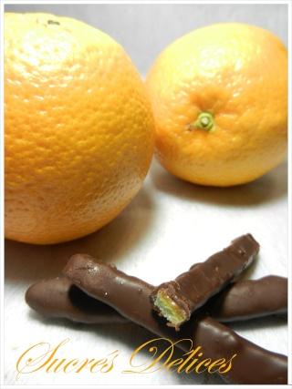 écorces d'oranges confites et orangettes Orange12