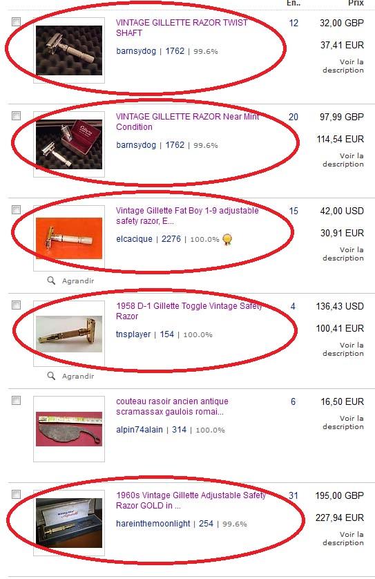 Problème sur eBay Ebay210