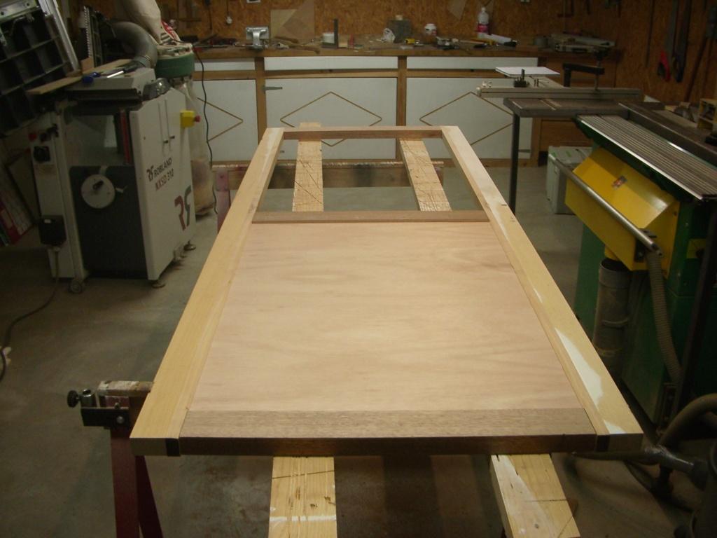 "fabrication porte de cuisine style "" verrière "" Imgp6629"