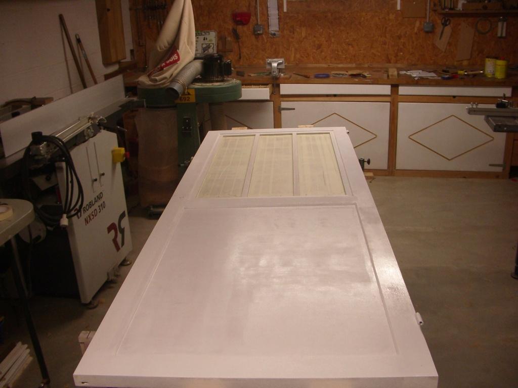 "fabrication porte de cuisine style "" verrière "" Imgp6711"
