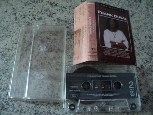 Альбомы Франка Дюваля на аудиокассетах Duval_10
