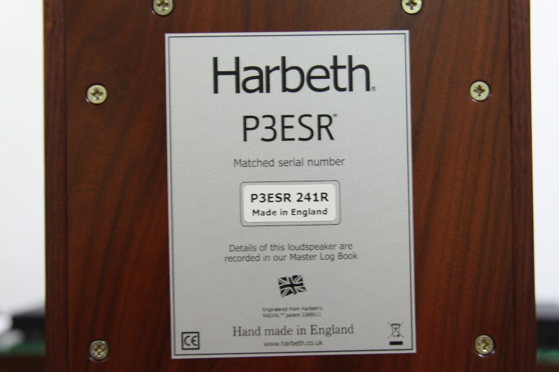 Harbeth P3ESR --Bookshelf Speaker (SOLD) P3esr_10