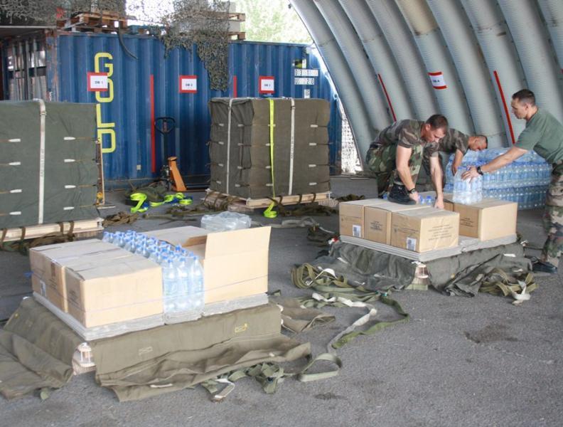 Le 1er RTP est le seul régiment de livraison par air de l'armée de Terre. Livrai10