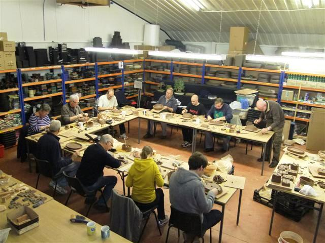 Vale of Clywd Bonsai Society  Walsall Ceramics Workshop Week-end October 15/16th 2011 Everyo10