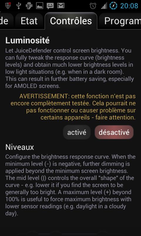[tuto] Apllication juice defender ultimate Screen28