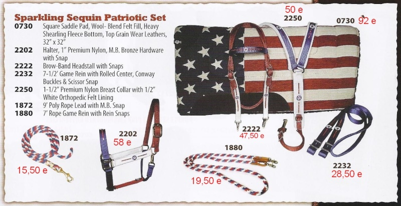 Equipement pour chevaux made in USA Sparki10