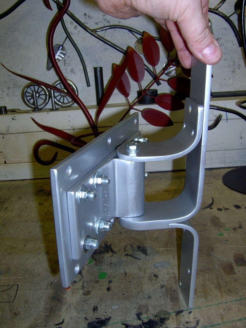 Weitere selbst gebaute Metallobjekte Fernse10