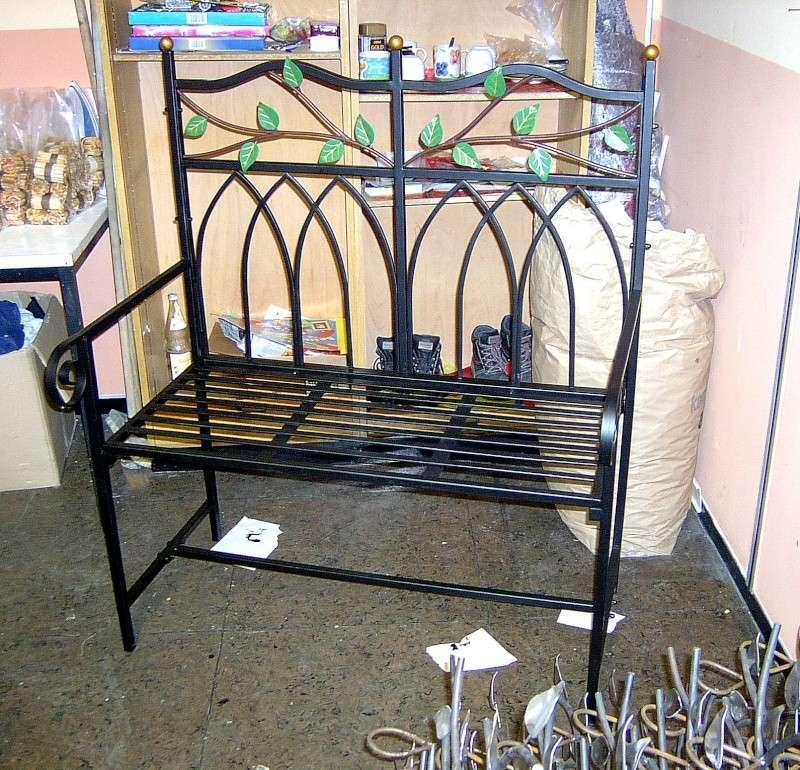 Weitere selbst gebaute Metallobjekte Garten10