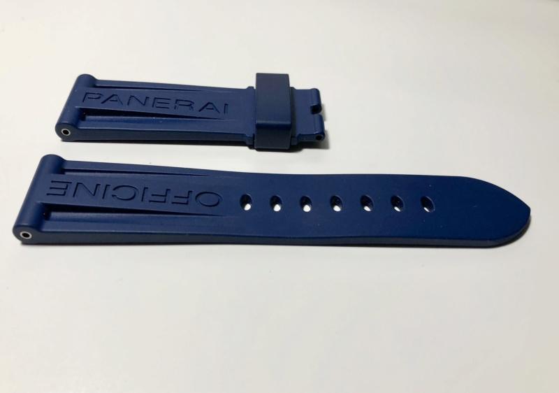 panerai - [Vends] PANERAI bracelet caoutchouc bleu foncé Fullsi54