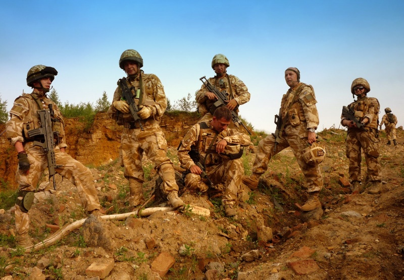 British troops in Afghanistan P1100012