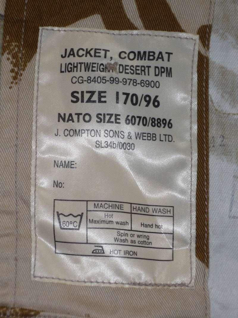 British Jacket lightweight-Gulf War. P1100915
