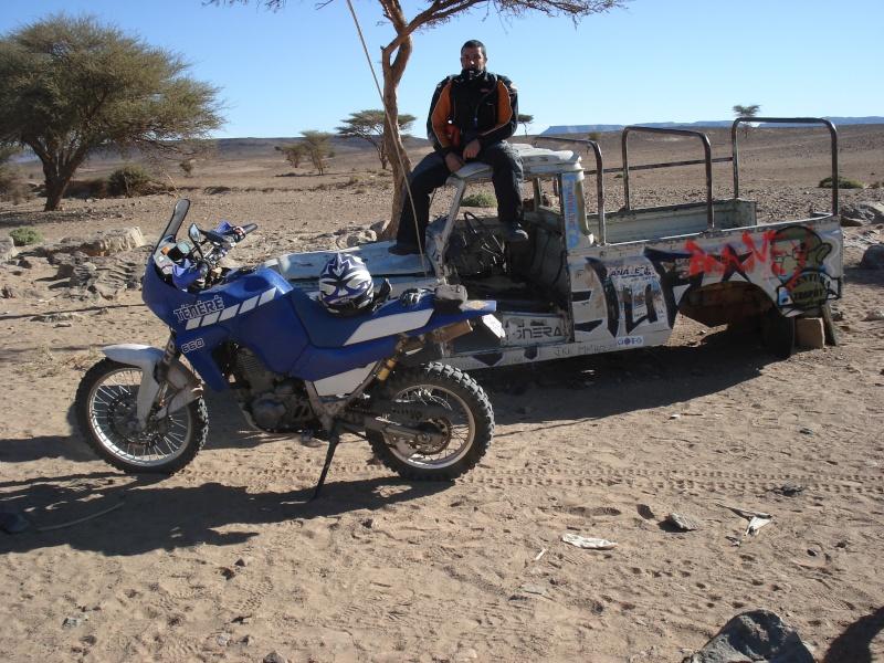 Mon xtz 660 au Maroc Dsc03810