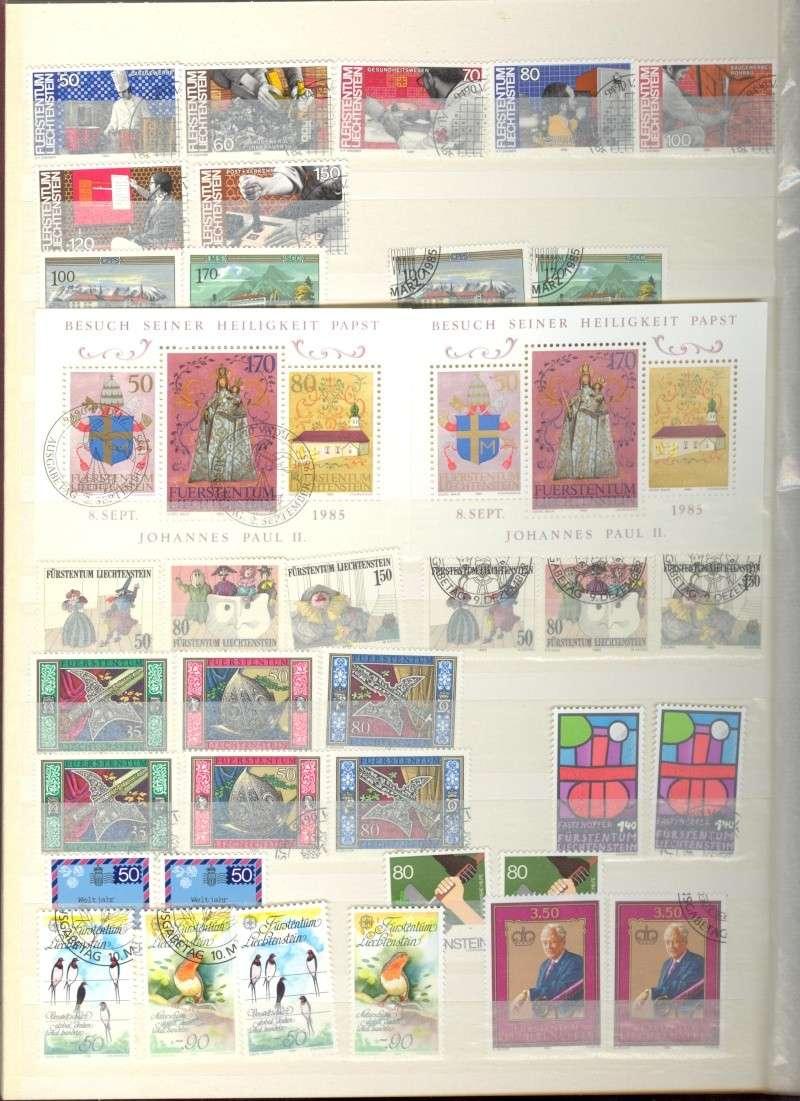 Sammelalbum Lichtenstein von 1970 bis ca. 1980 Lichte13