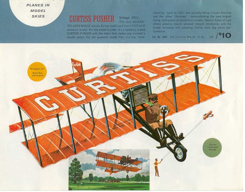 COX 1911 Curtiss Pusher  Cox61-10