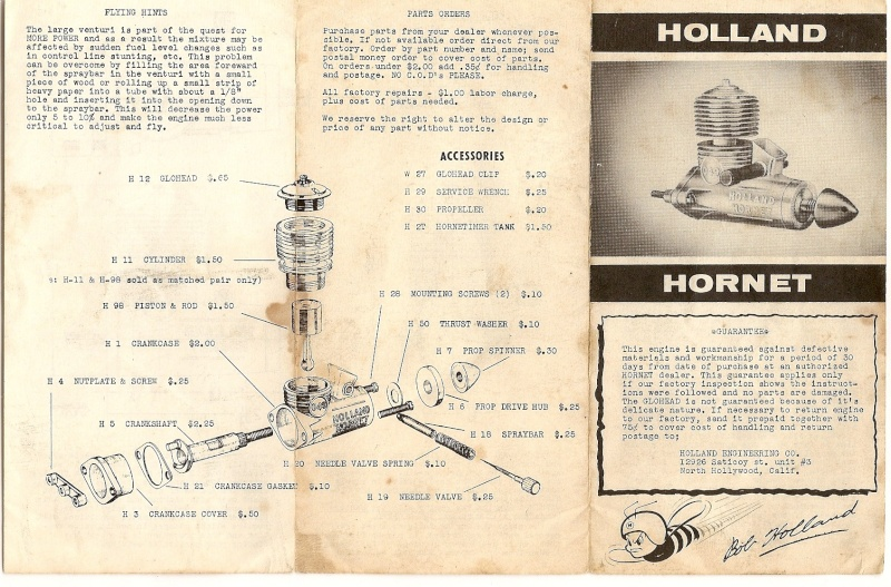 Cox Engine Tests/reviews ONLY Hollan10
