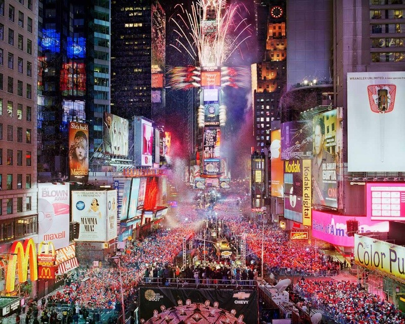 Times Square, New York City Nye07h10