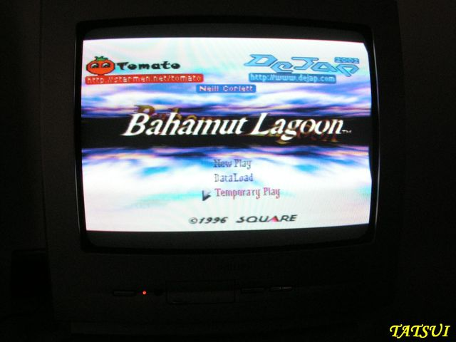 Mes réalisations, SNES: Bahamut Lagoon Bahamu12