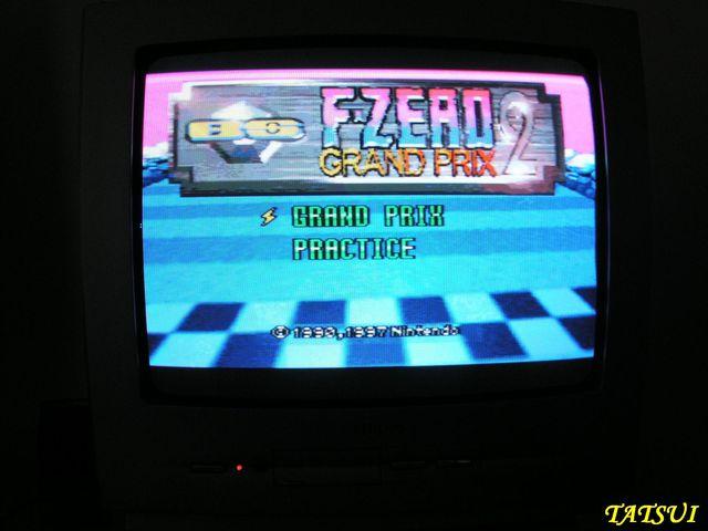 Mes réalisations, SNES: F zero Grand prix 2 Fzero011