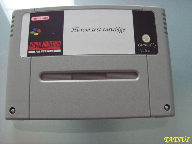 Mes réalisations, SNES: Cartouche de test Hirom Sram 64Kb Pict0076