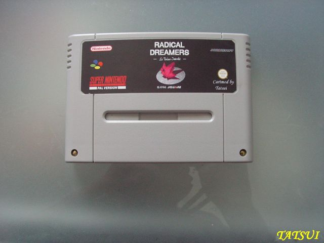 Mes réalisations, SNES: Radical Dreamers Pict0081