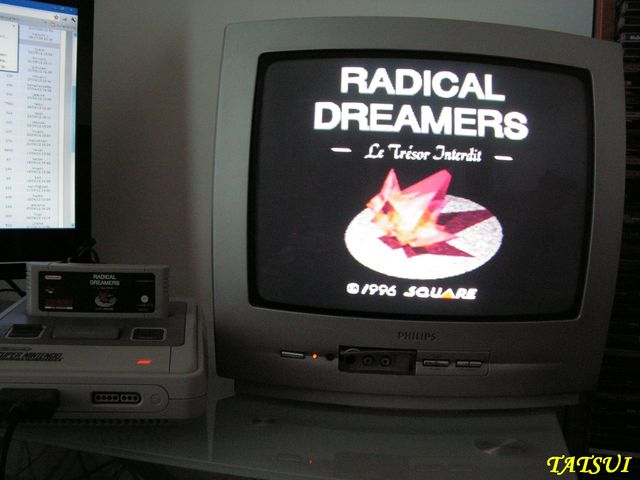 Mes réalisations, SNES: Radical Dreamers Pict0082