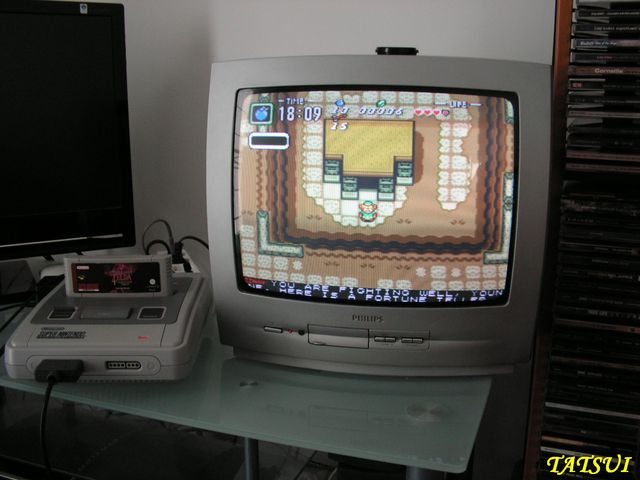 Mes réalisations, SNES: Zelda ancient stone tablets (easy cartmod) Pict0095