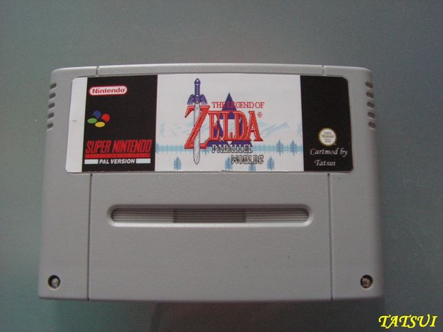 Mes réalisations, SNES: Zelda Parallel world Zeldap10