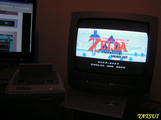 Mes réalisations, SNES: Zelda Parallel world Zeldap11