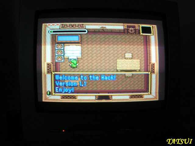 Mes réalisations, SNES: Zelda Parallel world Zeldap12