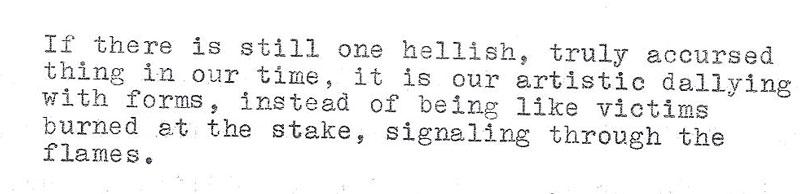 Handwriting, published works, phrases etc. Artaud10