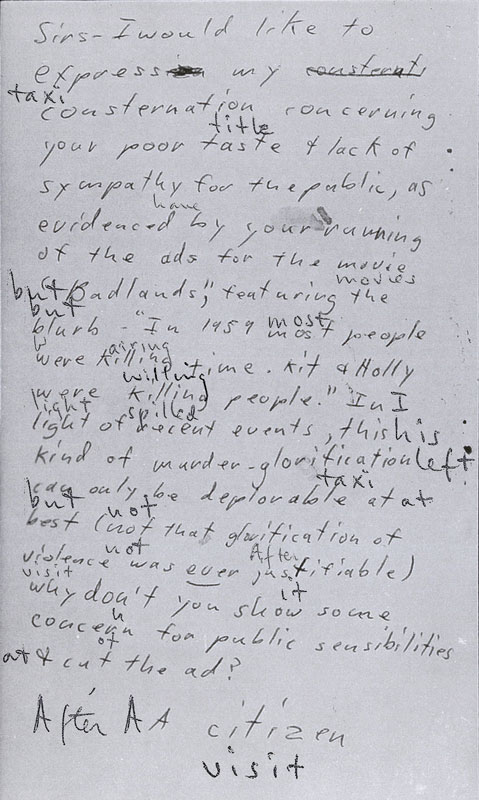 Handwriting, published works, phrases etc. Citize10