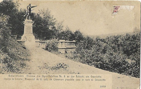 Les monuments de Gravelotte Gravel10