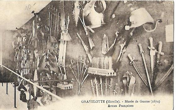 Musée de Gravelotte, dit de la Guerre de 1870 et de l'Annexion.  Gravel13