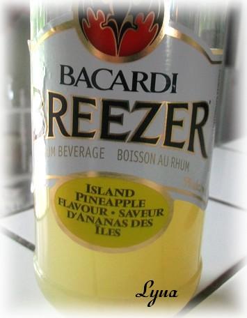 Bacardi Breezer à l'ananas des Iles Bacard11