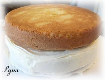 Gâteau avec crème pâtissière au caramel Gateau29