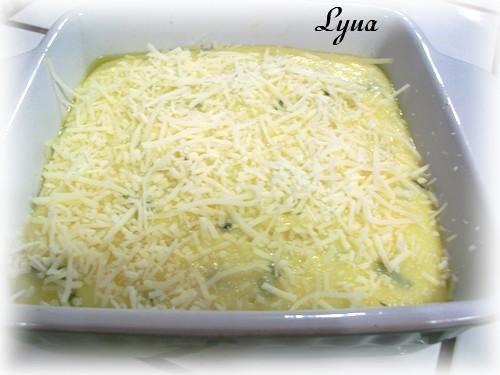 Polenta au fromage cuite au four Polent10