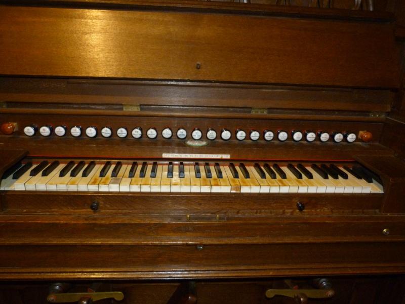 Harmonium Dumont à buffet rehaussé - Eglise de Sciez Bf123510
