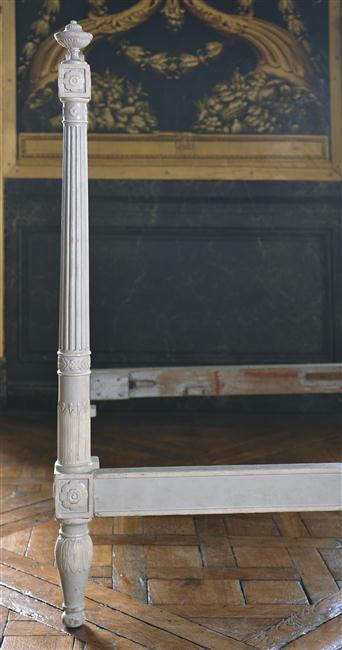 Chambre à coucher du Petit appartement de Marie-Antoinette, au rez-de-chaussée du château de Versailles 11-55312