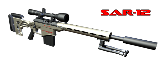 "SAR 12, le ""sniper"" ultime! Sar-1210"
