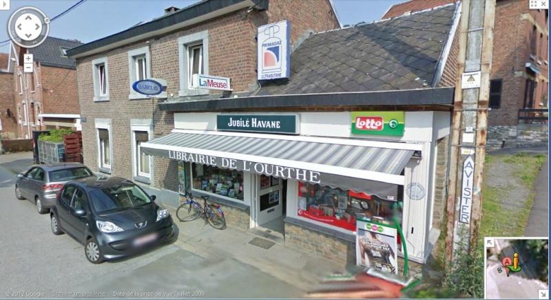 Street View : La Belgique : Pays du surréalisme Maison11