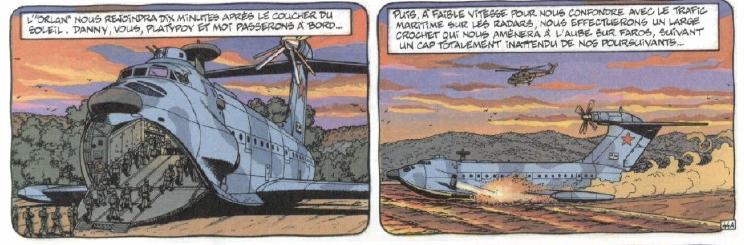 Le monstre de la mer Caspienne, l'ekranoplane - Russie  - Page 3 Orlan110