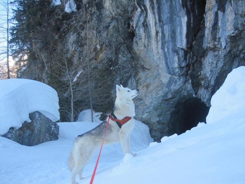 Courses de Saskia dans la neige, printemps 2012 2812