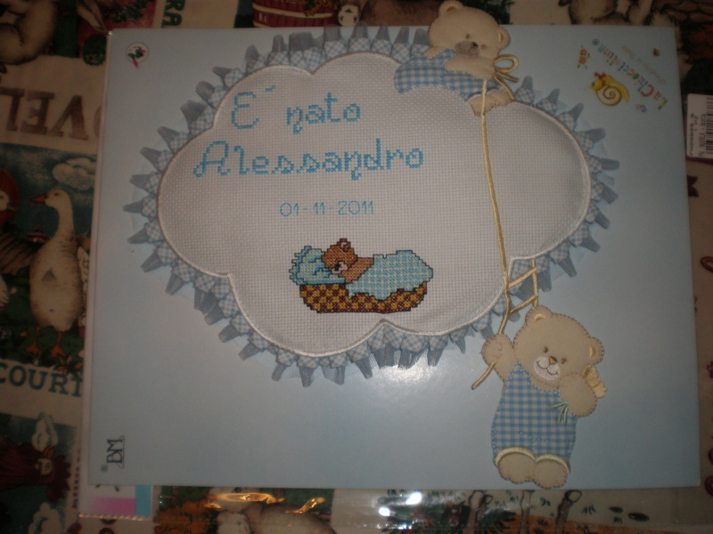 Fiocco nascita con orsetto Pb020010