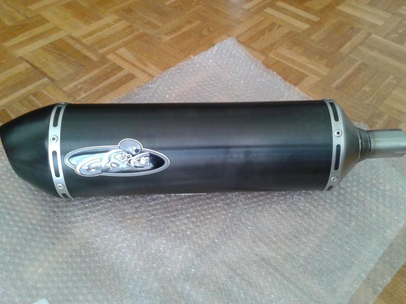 Pot d'échappement G&G 20120612