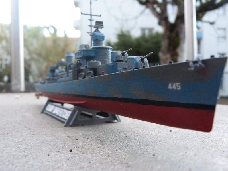 USS Fletcher DD-445, Tamyia, 1/350 P1020021